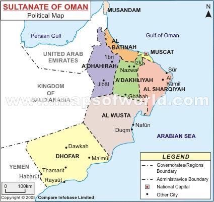 an introduction to the sultanate of oman Formal name: sultanate of oman short name: oman adjective: omani capital:  muscat  onset of arab domination and introduction of islam 800s ibadiyah.